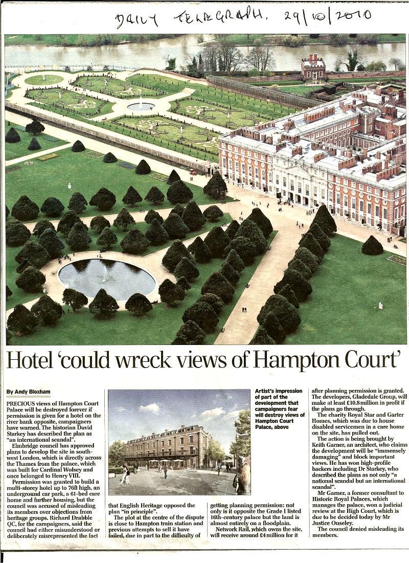 Hampton Court Rescue Campaign